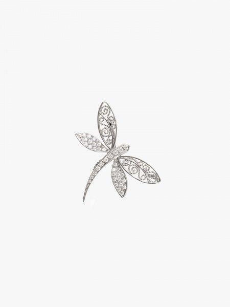 Alfinete com forma de borboleta