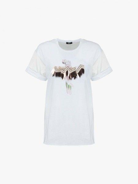 T-shirt adornada
