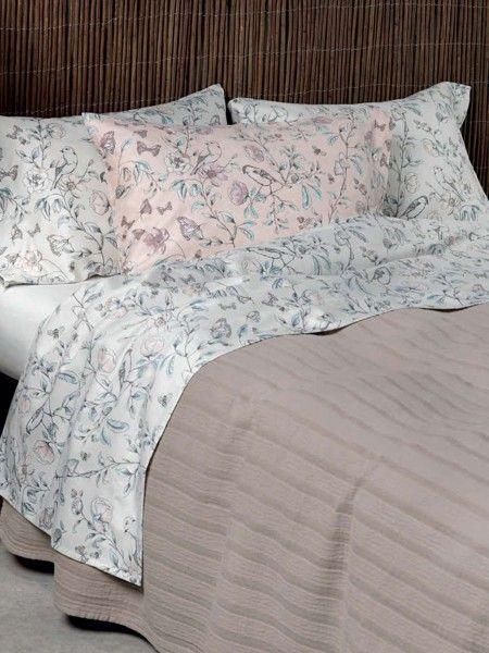 Jogo de lençóis floral