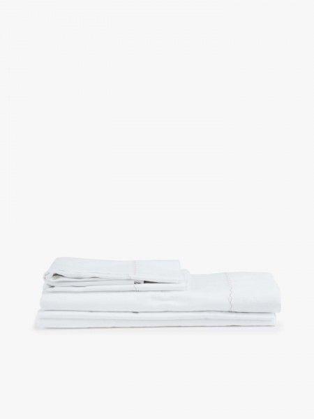 Jogo de lençóis em algodão