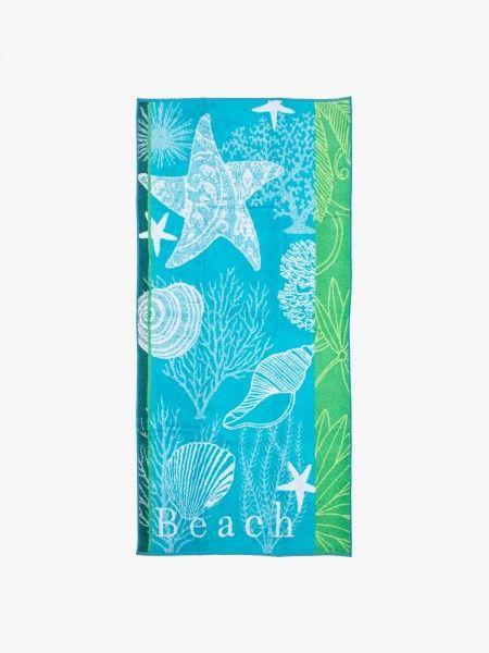 Toalha de praia com padrão