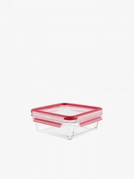 Caixa Hermética de vidro quadrado 0,9L