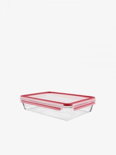 Caixa Hermética de vidro Clip&Close Cristal 3L