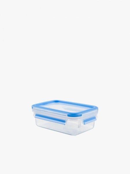Caixa para conservação de alimentos retangular 1L