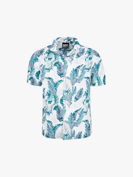 Camisa de manga curta estampada