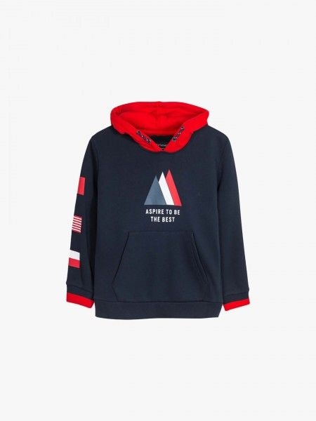Sweatshirt colorblock