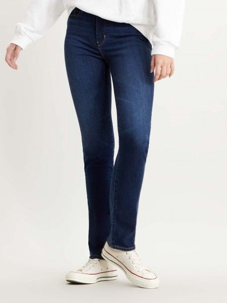 Jeans 724 High Raise Straight Fit