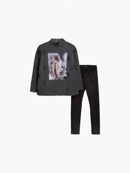 Conjunto Sweatshirt e leggings