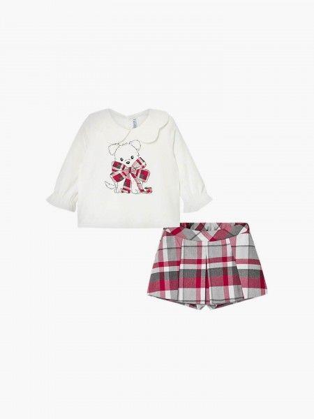 Conjunto camisola e calçºoes