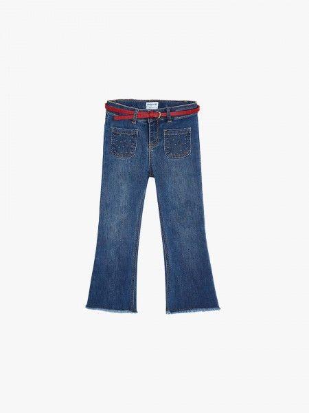 Jeans Flare com Cinto