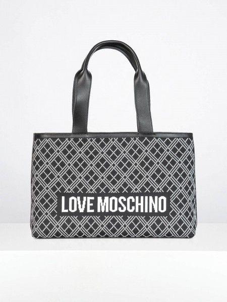 Shopper com padrão bordado