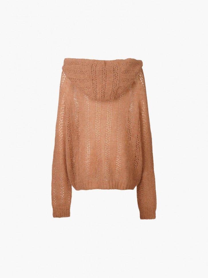 Sweatshirt Malha Pointelle