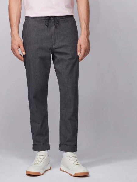 Calças Tapered Fit