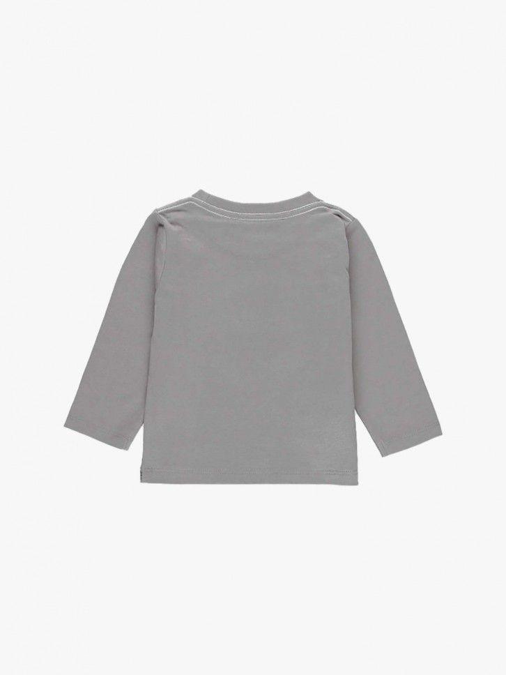 Camisola de manga comprida estampada