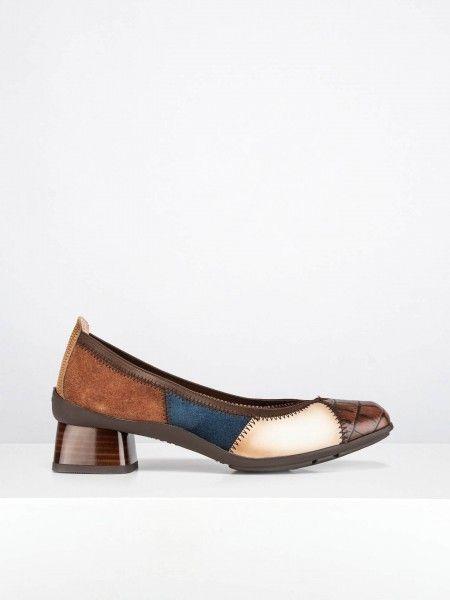 Sapatos Combinados