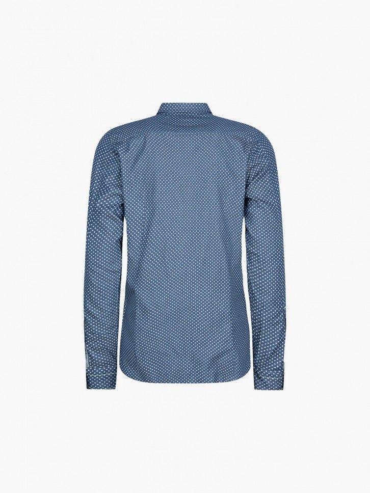 Camisa estampada slim fit
