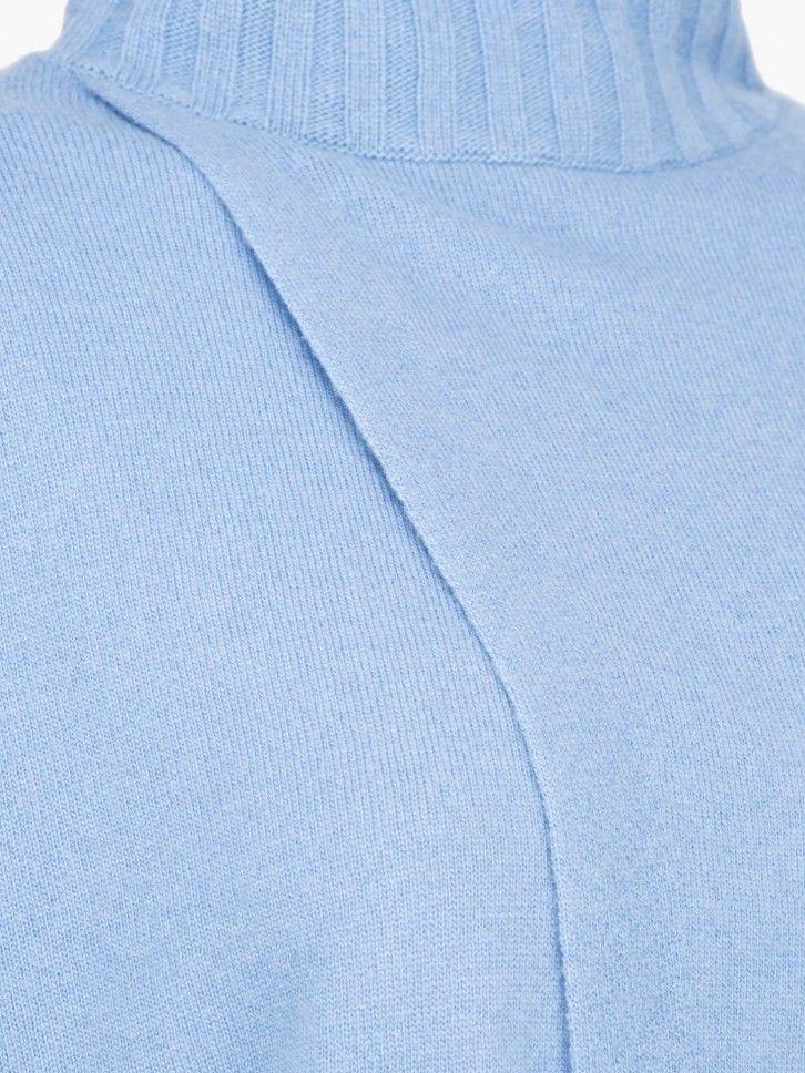 Camisola de gola alta