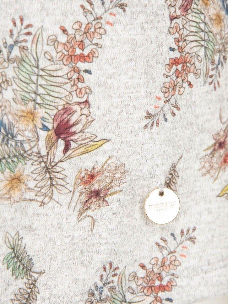 Camisola com Padrão Floral