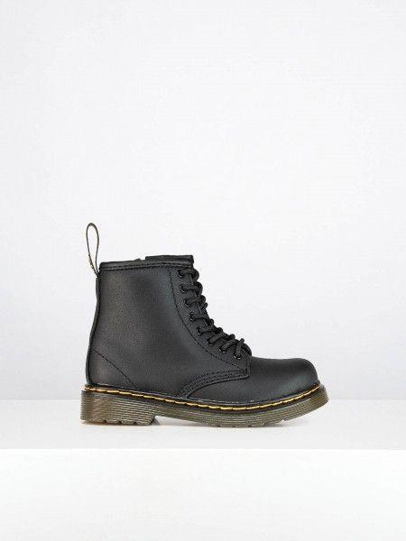 Combat Boots em Pele