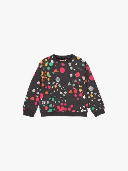 Sweatshirt com Padrão