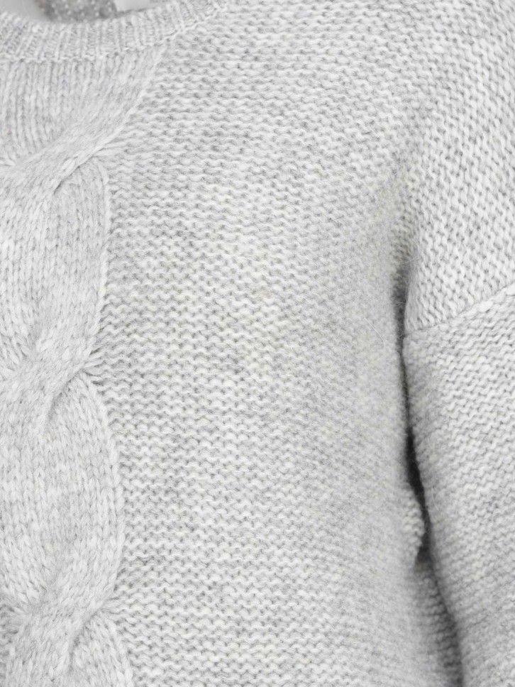 Camisola Malha Trançada