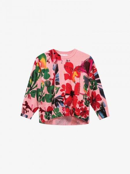 Camisola Padrão Floral
