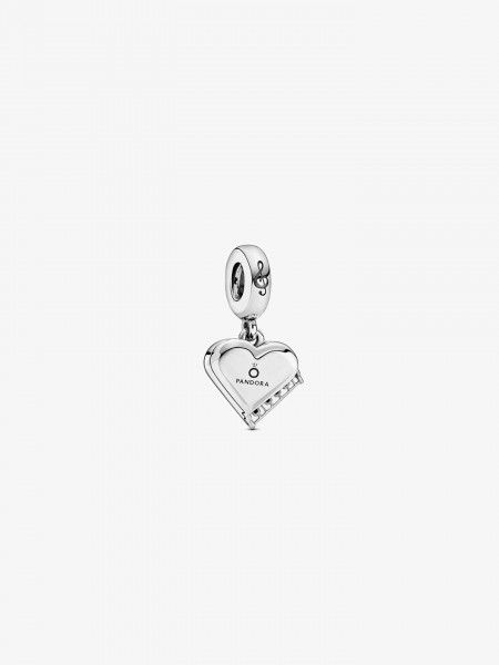 Conta Grand Piano Heart Dangle