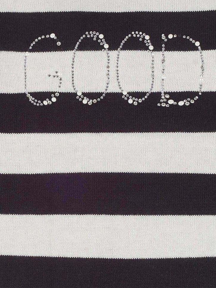Camisola de malha com folhos