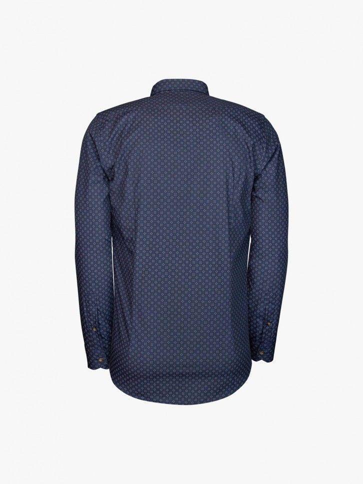 Camisa estampado geométrico