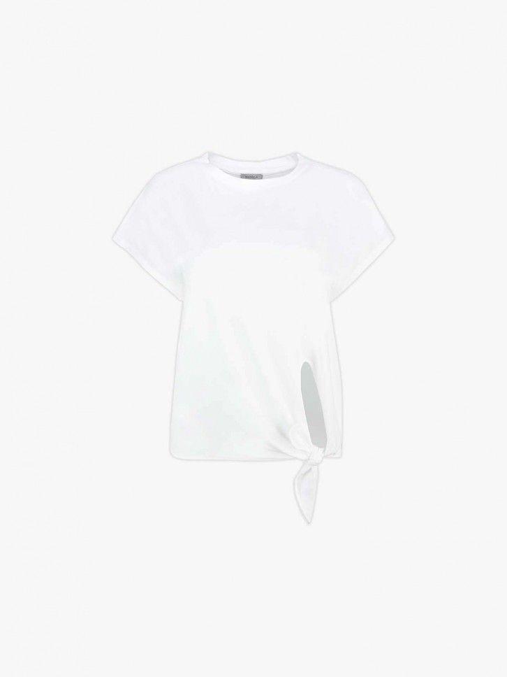 T-shirt com abertura