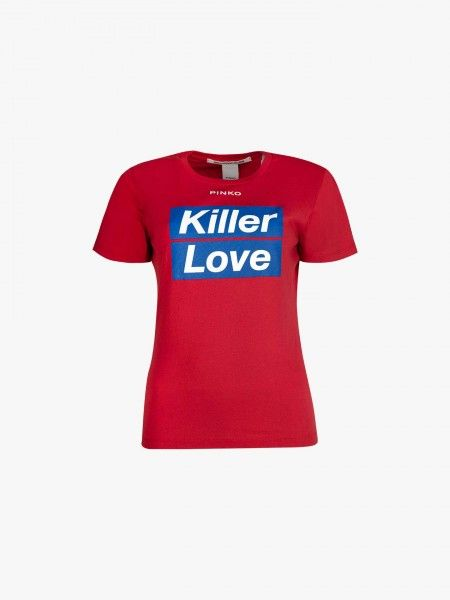 T-Shirt Estampada Texto