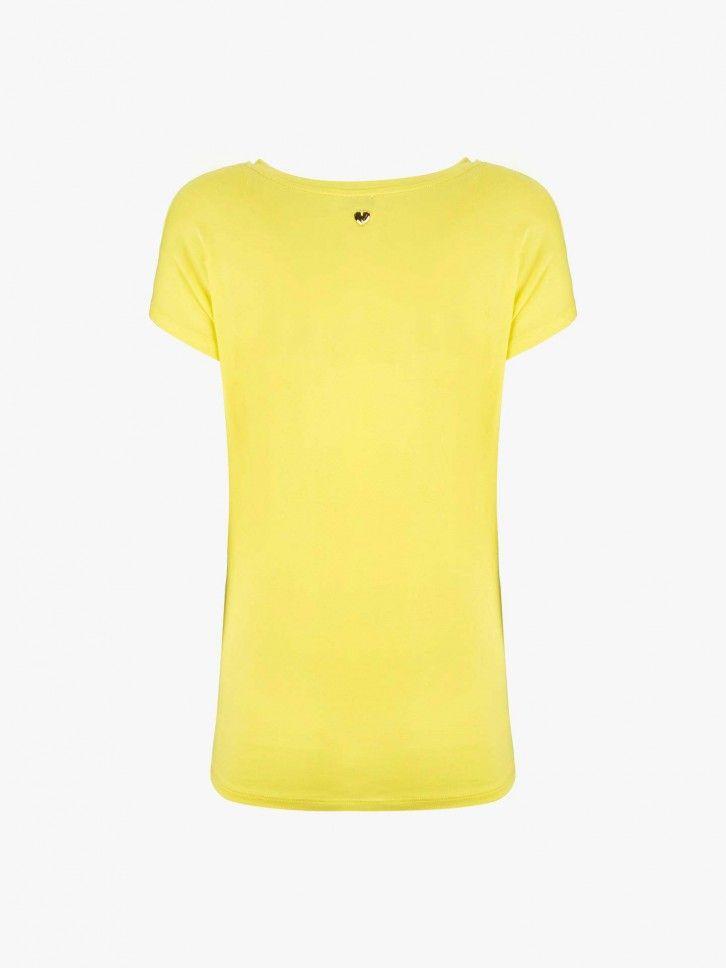 T-shirt gola redonda