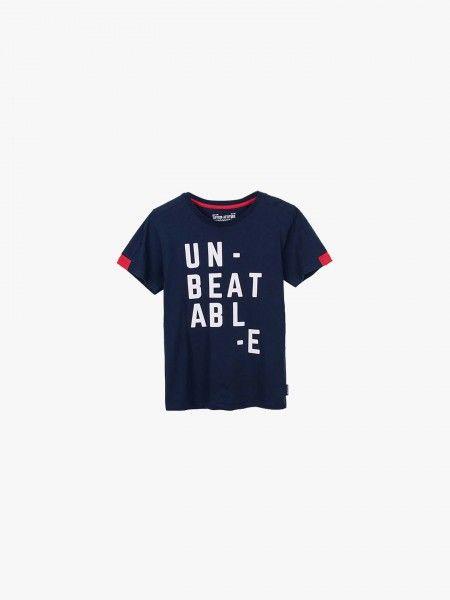 T-shirt com texto