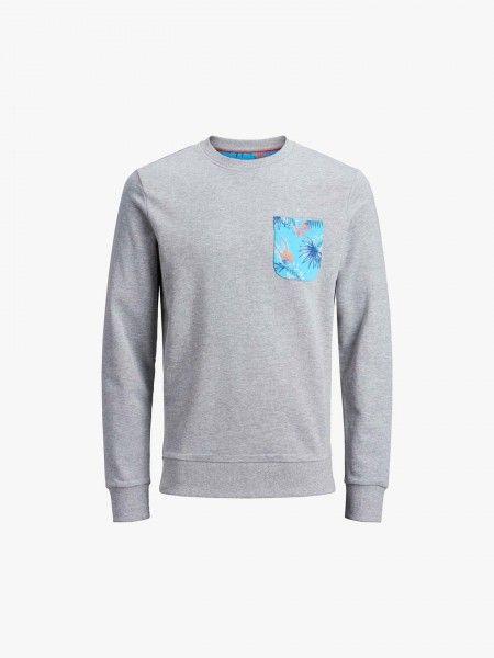 Sweatshirt com bolso