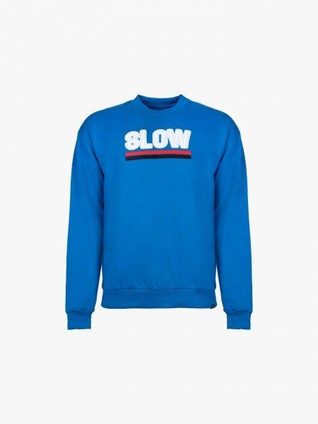Sweat-shirt com bordado