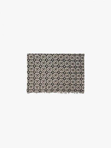 Écharpe padrão geométrico