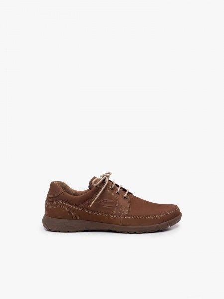 Sapatos desportivos com pesponto