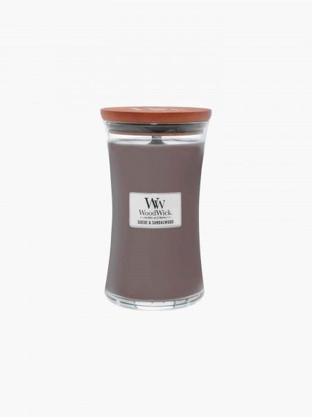 Vela Jar Candle Sueded Sandalwood