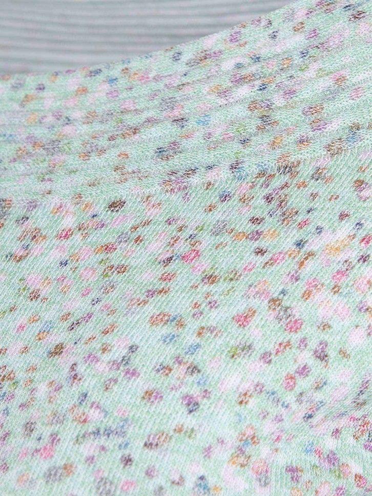 Camisola de manga curta multicolor