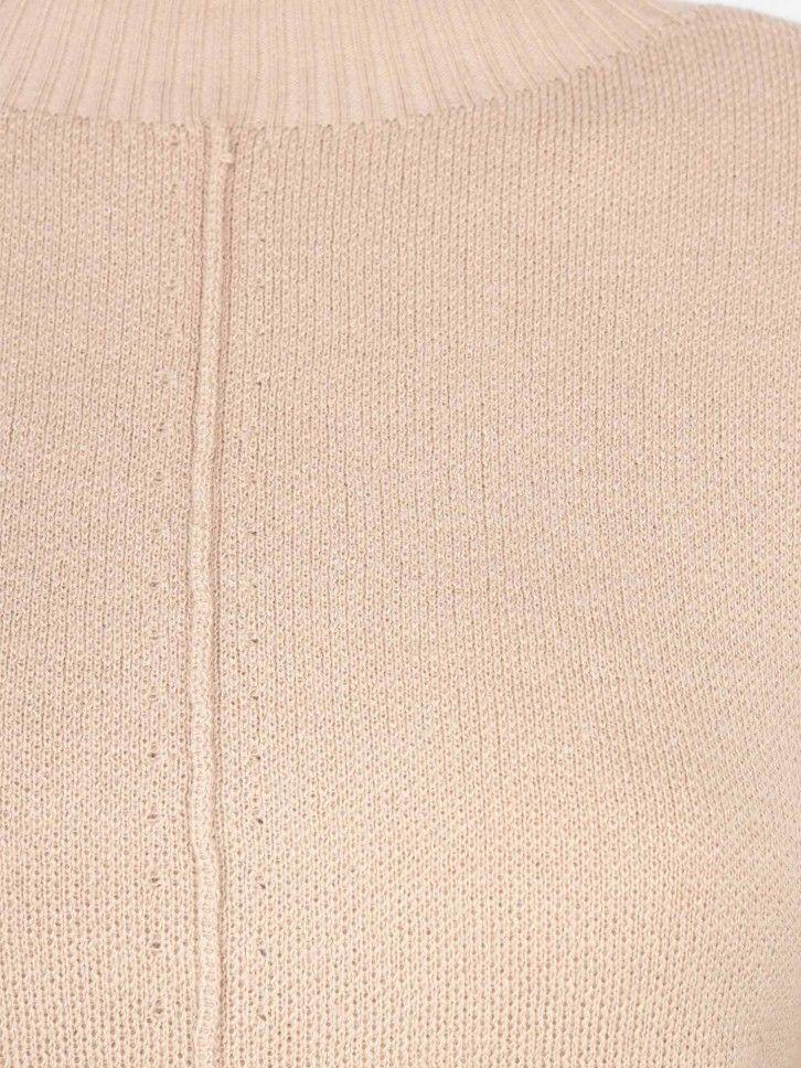 Camisola de Malha Meia Gola
