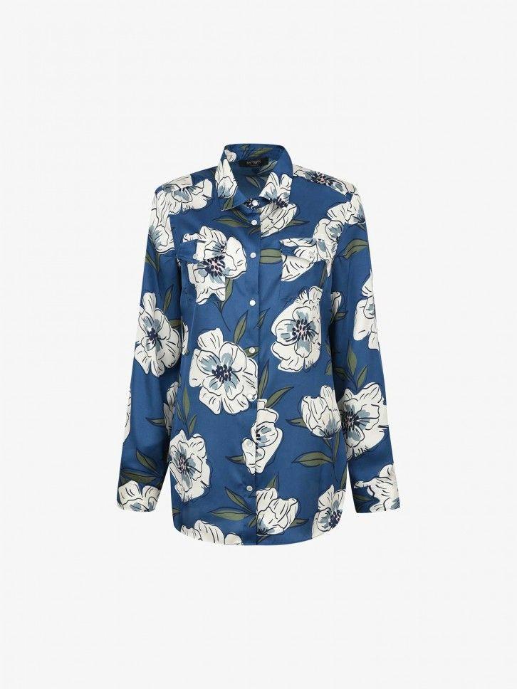 Camisa Padrão Floral