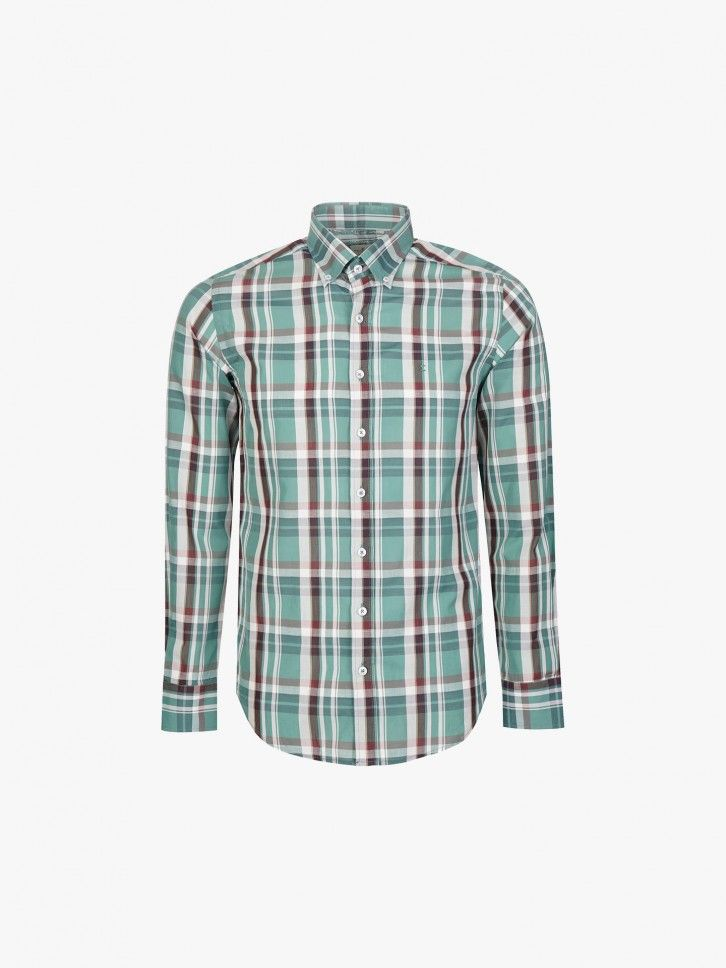 Camisa ao Xadrez Slim Fit
