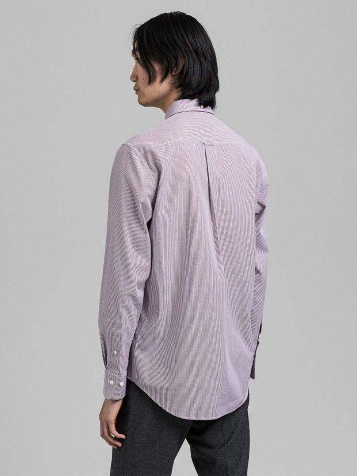 Camisa Regular fit às Riscas