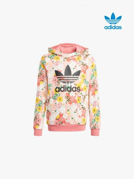 Sweatshirt com Padrão Floral