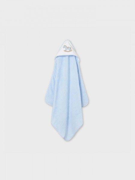 Toalha para Bebé com capuz