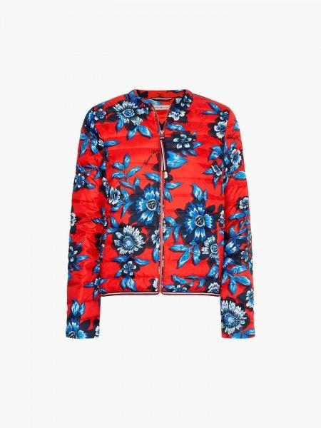 Blusão Padrão Floral