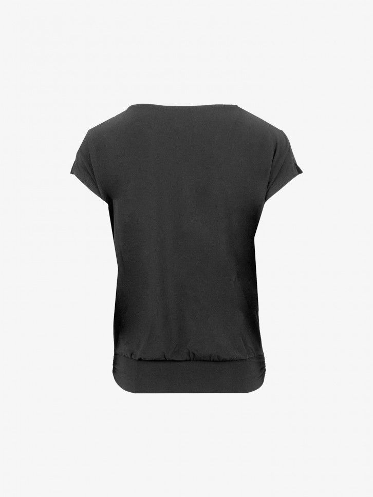 T-shirt Gola descaída