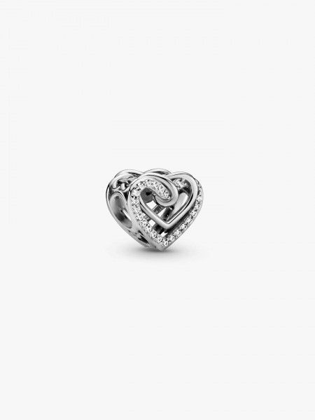 Conta Sparkling Entwined Hearts