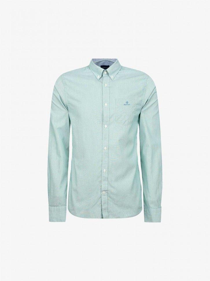 Camisa em Popeline Regular Fit