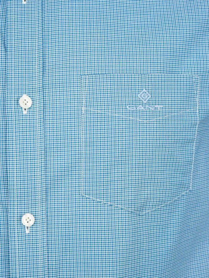 Camisa em Popeline ao Xadrez